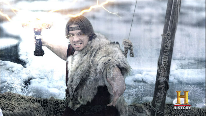 Still image from: Clash of the Gods: Thor