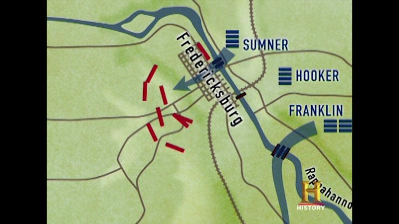Still image from Civil War Combat: The Battle of Fredericksburg