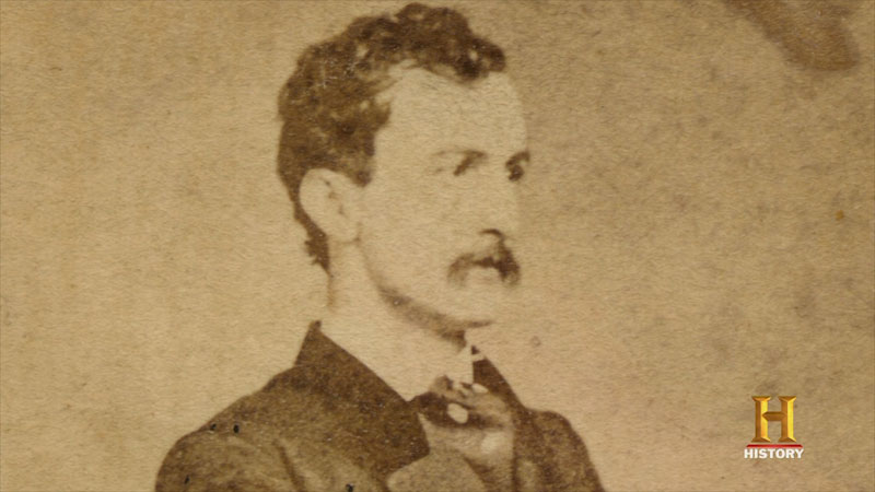 Still image from: The Hunt for John Wilkes Booth