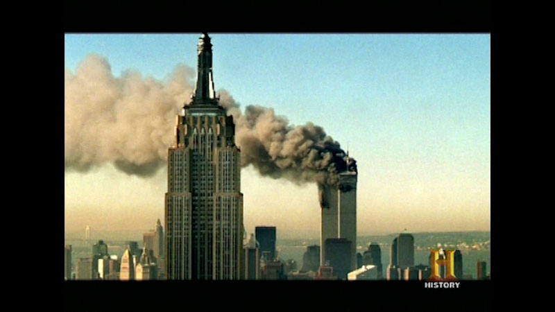 Still image from The Day the Towers Fell
