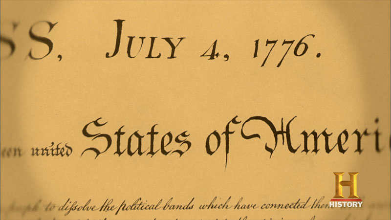 Still image from Decoded: Declaration of Independence