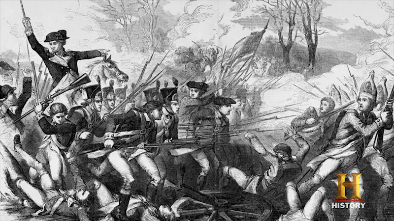 Still image from: 10 Things You Don't Know About the American Revolution