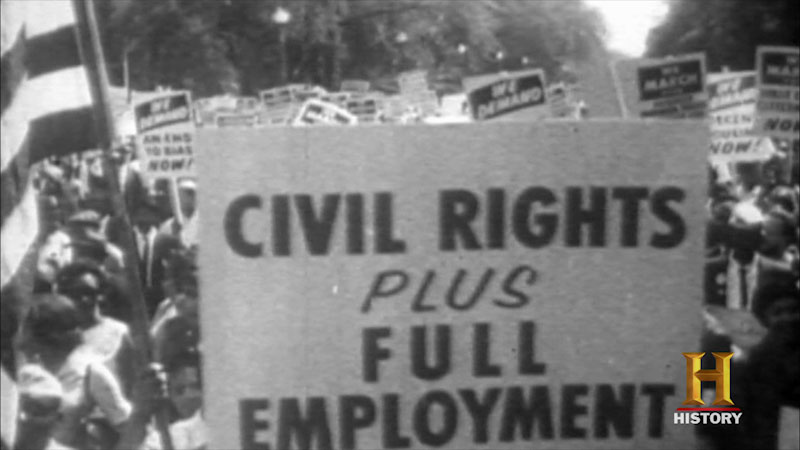 Still image from 10 Things You Don't Know About Civil Rights