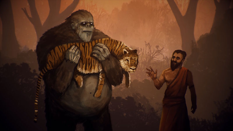 Still image from: Monstrum: The Crazed Hunt for the Himalayan Yeti