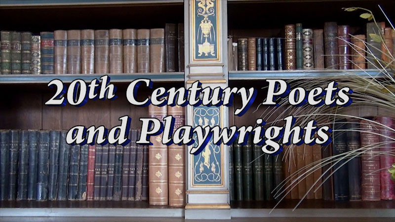Still image from: Great Authors of the British Isles: 20th Century Poets and Playwrights