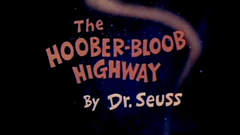 Still image from The Hoober-Bloob Highway