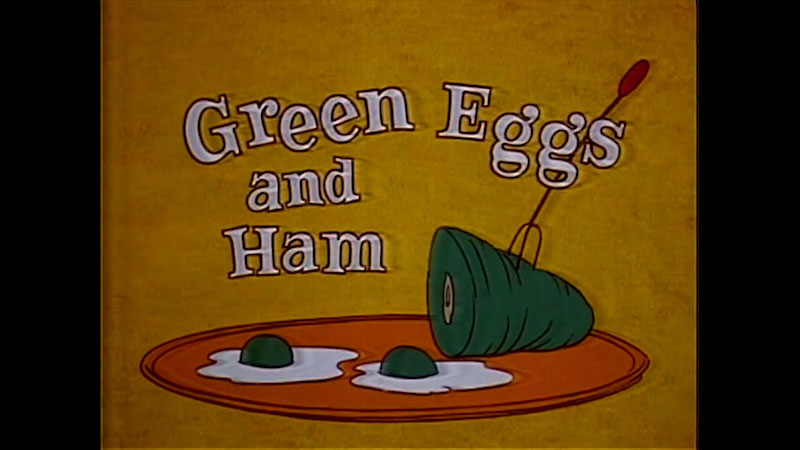 Still image from Green Eggs and Ham