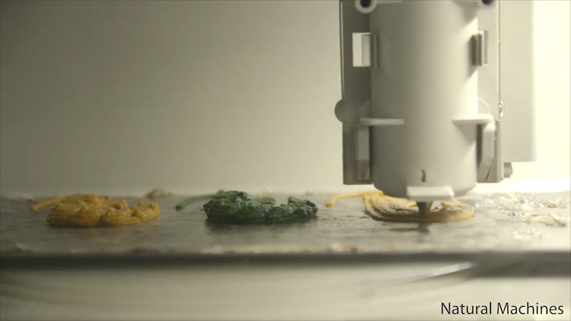 Still image from: 3D Printed Food
