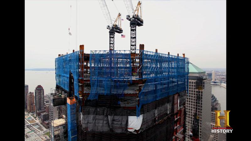 Still image from Rebuilding the World Trade Center