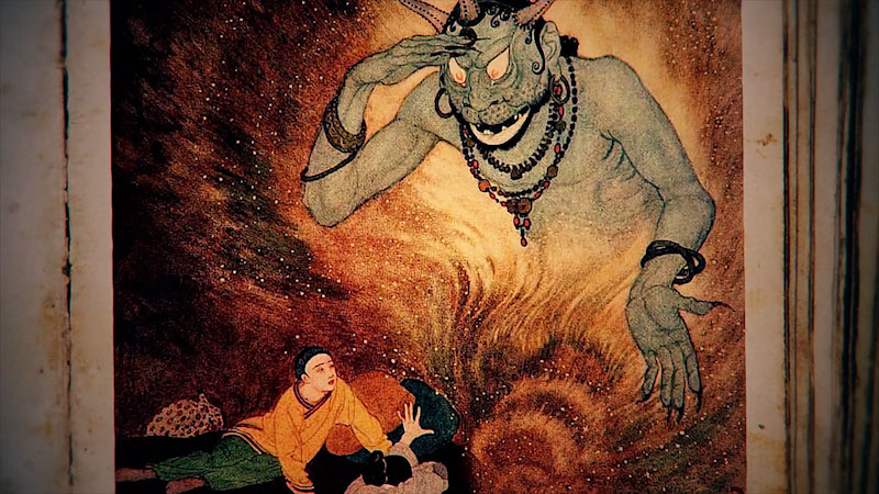 Still image from: Monstrum: Jinn--The Ancient Arabian Shapeshifters
