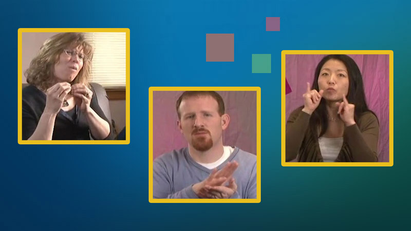 Still image from Interactive Module: Getting a Job! for Students Who Are Deaf and Hard of Hearing