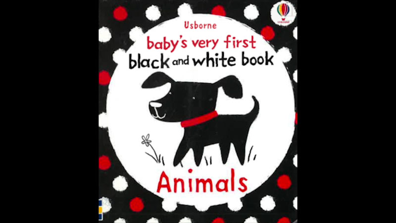 Still image from Baby's Very First Black and White Book: Animals
