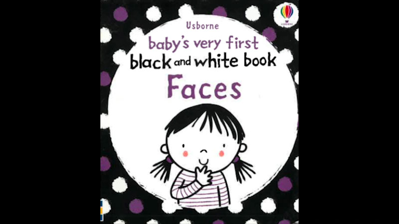 Still image from: Baby's Very First Black and White Book: Faces