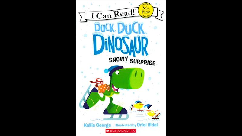 Still image from: Duck, Duck, Dinosaur Snowy Surprise