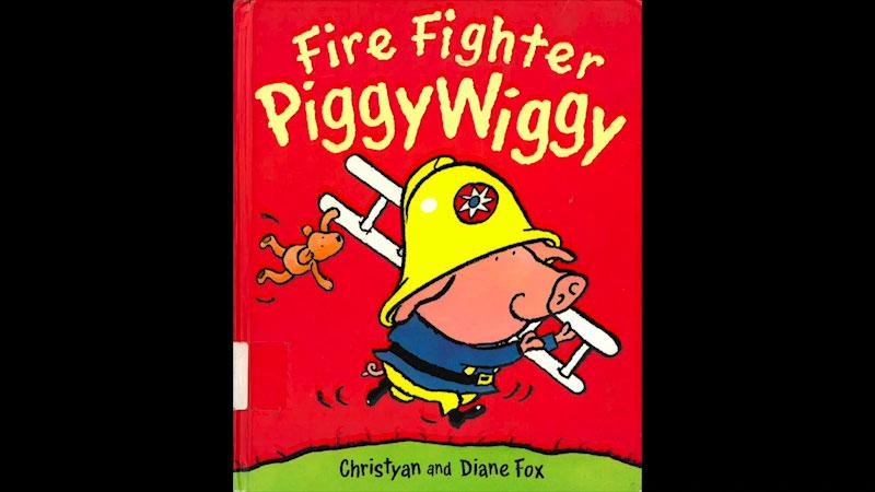 Still image from: Fire Fighter PiggyWiggy