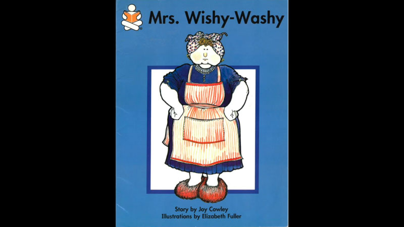 Still image from: Mrs. Wishy-Washy