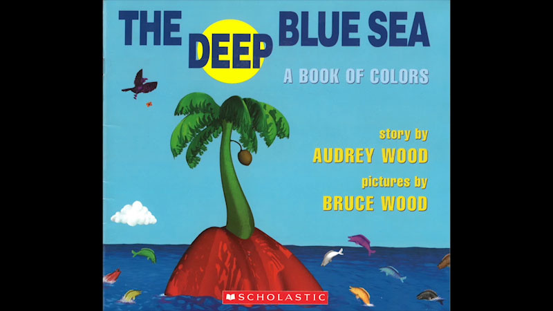 Still image from: The Deep Blue Sea: A Book of Colors