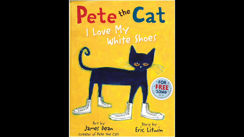 Still image from: Pete the Cat: I Love My White Shoes