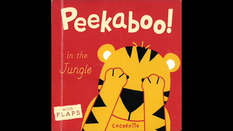 Still image from: Peekaboo! In the Jungle