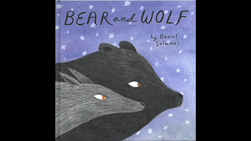 Still image from: Bear and Wolf