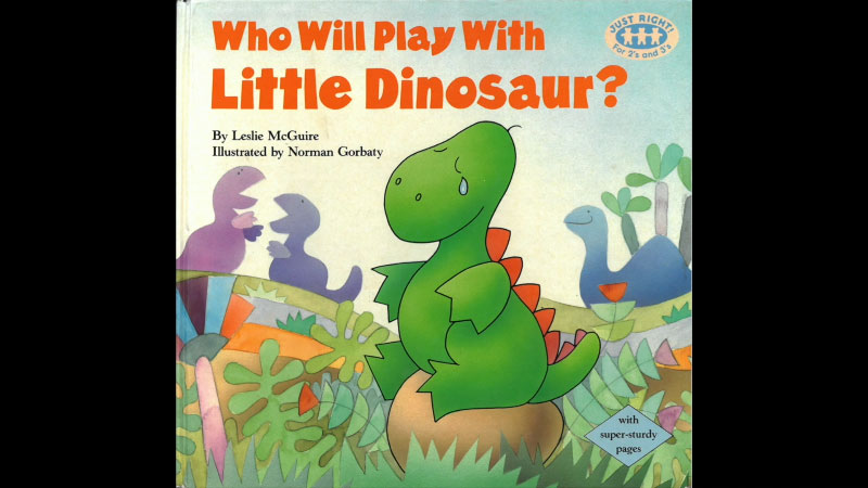 Still image from Who Will Play With Little Dinosaur?