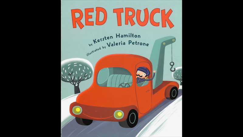 Still image from: Red Truck