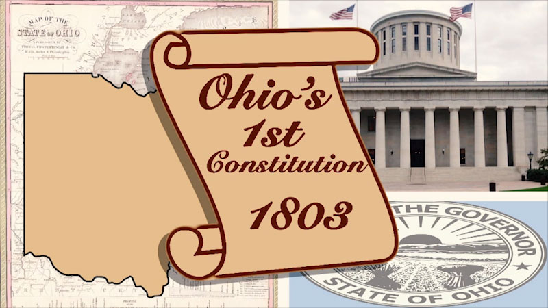Still image from Politics on Point: Ohio's State Constitution