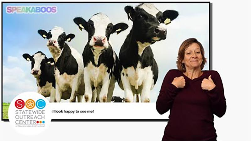 Still image from: Speakaboos: All About Farm Animals