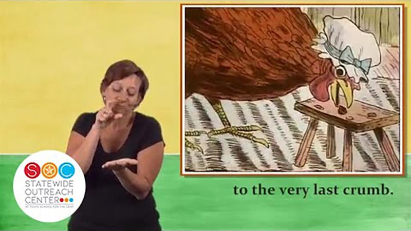Still image from: The Little Red Hen