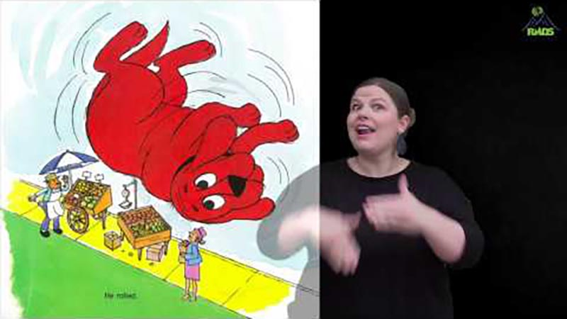 Still image from: Clifford: The Firehouse Dog