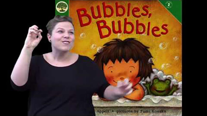 Still image from: Bubbles, Bubbles