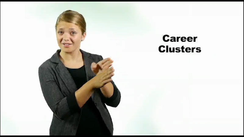 Still image from Map It: What Comes Next? Career Clusters Introduction