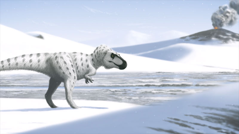 Still image from: Eons: When Dinosaurs Chilled in the Arctic
