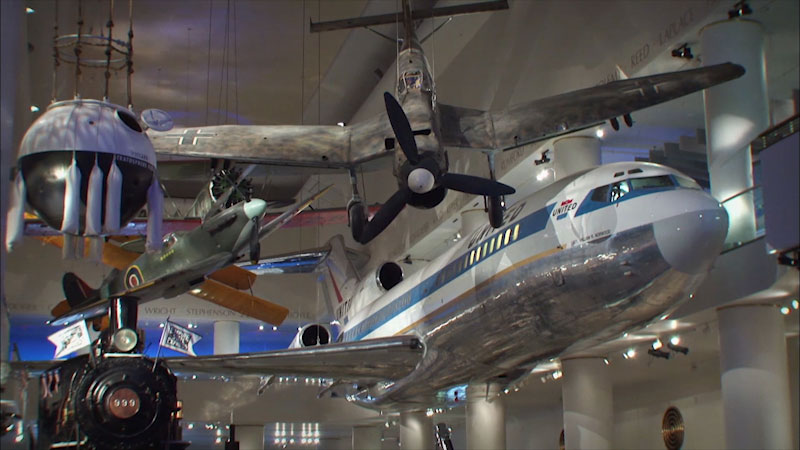 Still image from: Museum Access: Museum of Science and Industry