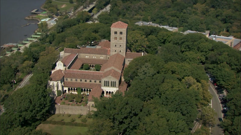 Still image from: Museum Access: The Cloisters