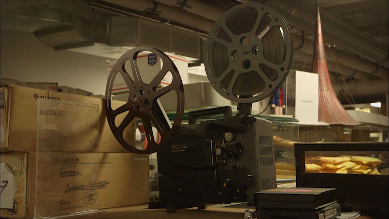 Still image from: Museum Access: Museum of Broadcast Communications