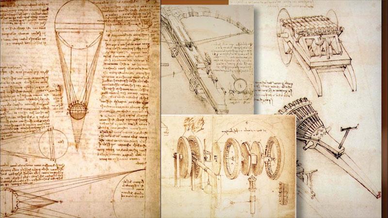 Still image from: Museum Access: The Leonardo da Vinci Machines Exhibition