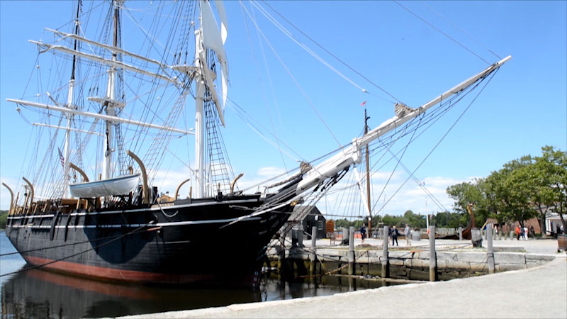Still image from Museum Access: Mystic Seaport Museum