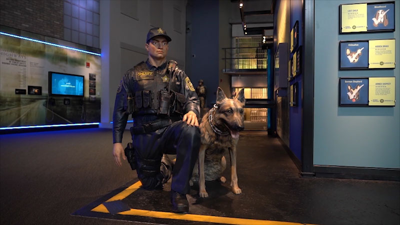 Still image from Museum Access: National Law Enforcement Museum