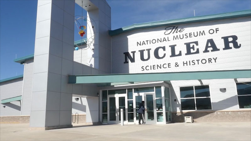 Still image from Museum Access: The National Museum of Nuclear Science and History