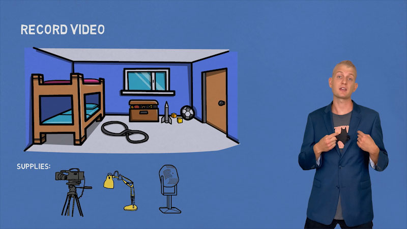 Still image from: Tired of Zoom? How to Make Engaging Educational YouTube Videos (Distance Learning)