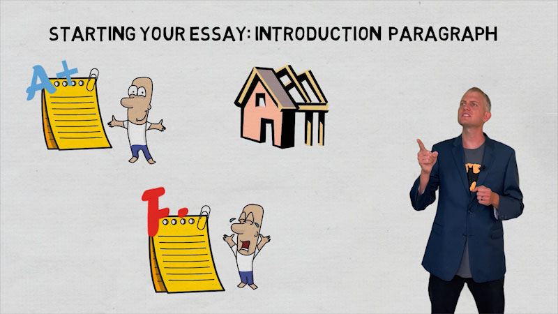 Still image from: How to Start Your Essay: Simple & Proven Introduction Paragraph Format