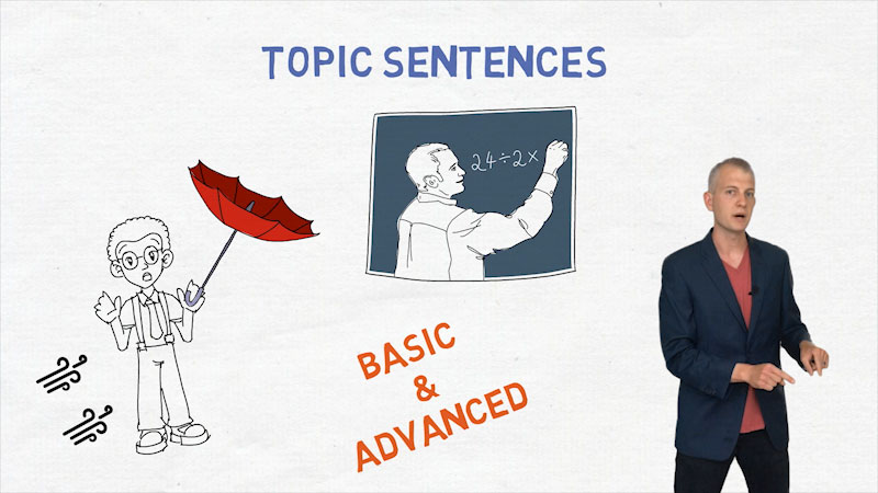 Still image from: Topic Sentence: The Best Ways to Begin a Body Paragraph (8 Steps for Beginners)