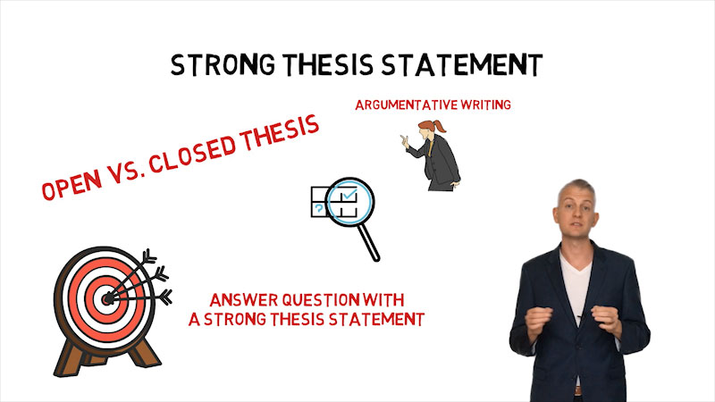Still image from: Before Writing Your Thesis