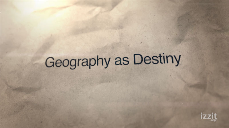 Still image from: Geography as Destiny