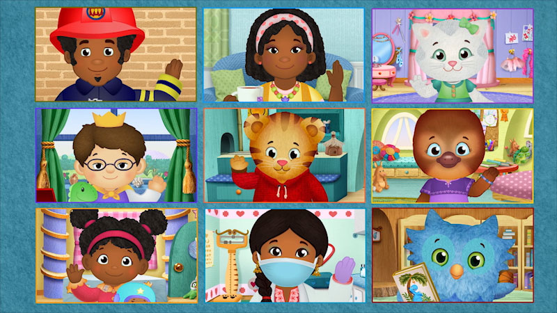 Still image from: Daniel Tiger's Neighborhood: Won't You Sing Along With Me?