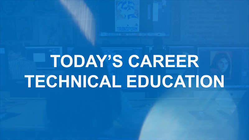Still image from: Finding Your Pathway for Parents: Today's Career and Technical Education