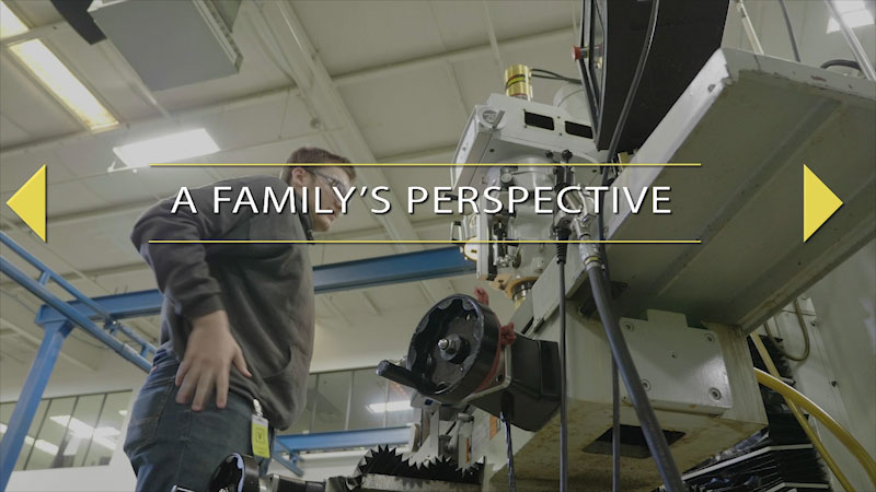 Still image from: Finding Your Pathway for Parents: A Family's Perspective
