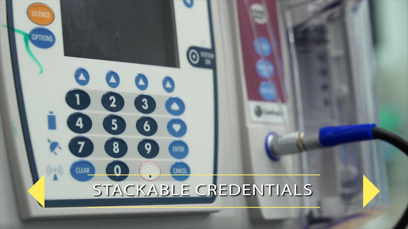 Still image from: Finding Your Pathway for Students: Stackable Credentials