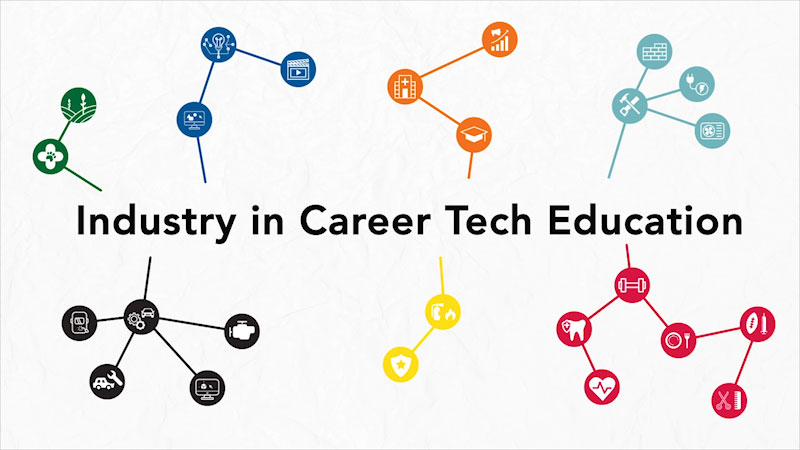 Still image from: Career Tech in Ohio: Industry in Career Tech Education (CTE)